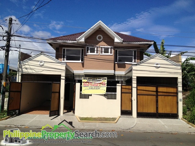 BF Homes, Paranaque Brand New 3-bedroom Duplex Units For Sale