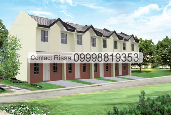 Fairgrounds Molino Bacoor Cavite Bridgette Townhouse
