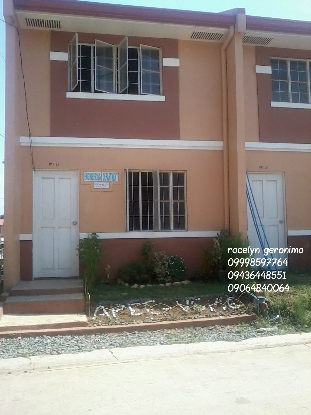 townhouse ready for occupancy villa San mateo6