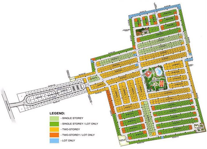 SITE DEVELOPMENT MAP
