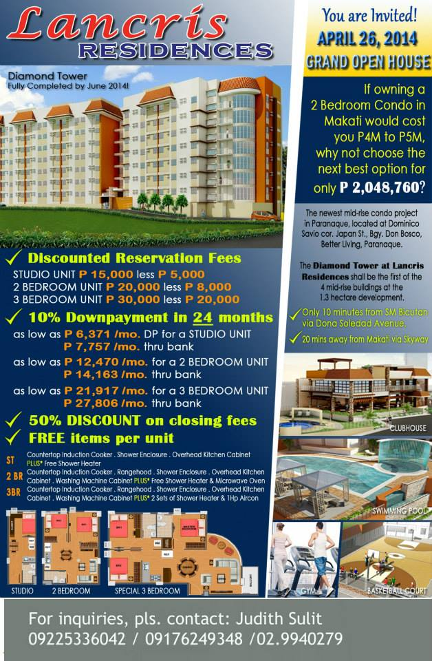 FOR SALE: Apartment / Condo / Townhouse Manila Metropolitan Area > Manila 11