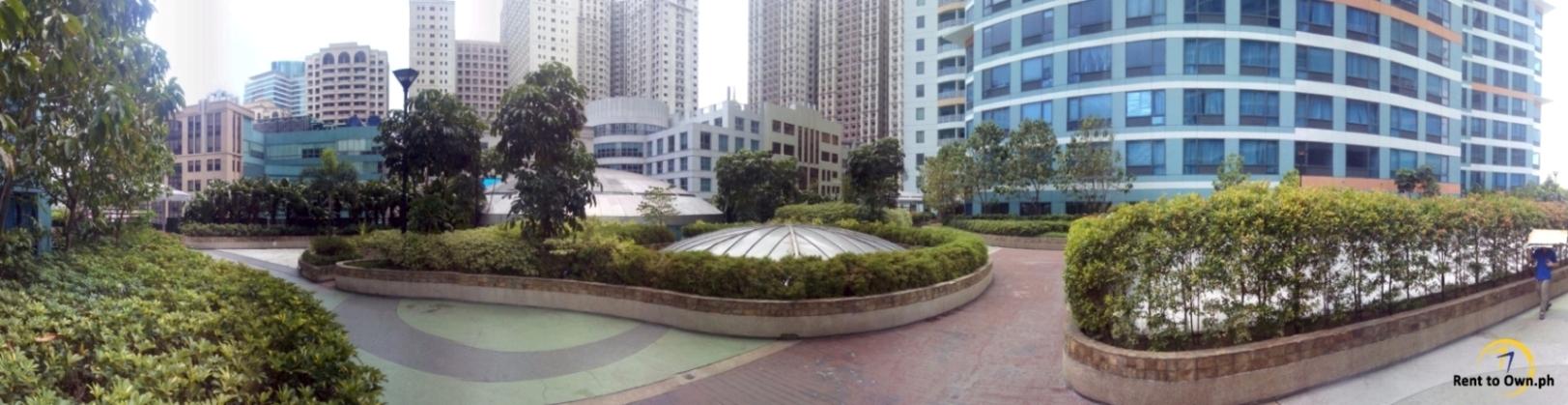 Garden - http://www.renttoown.ph