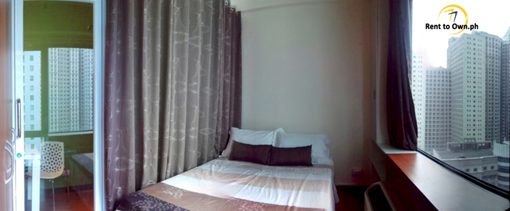 Bedroom - http://www.renttoown.ph