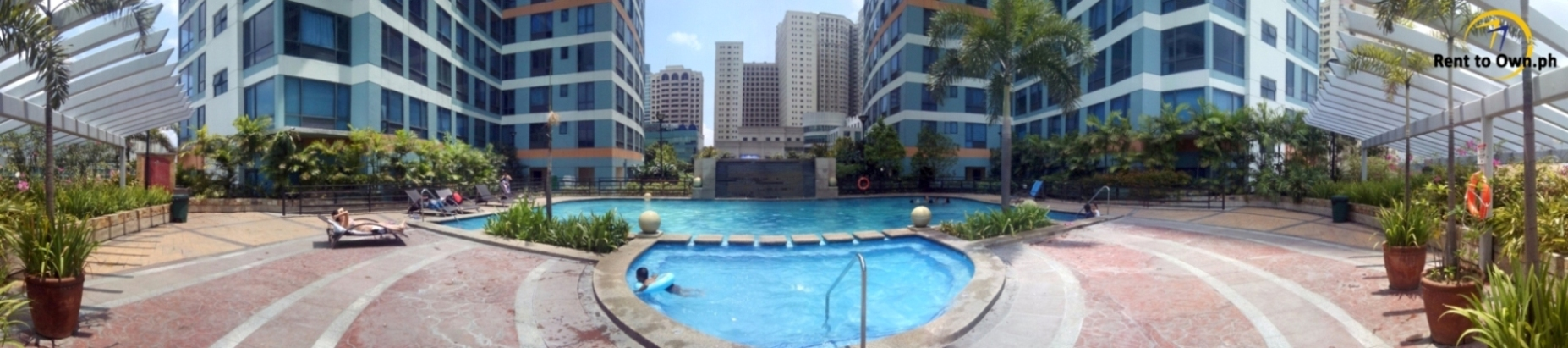 Swimming Pool 1 - http://www.renttoown.ph