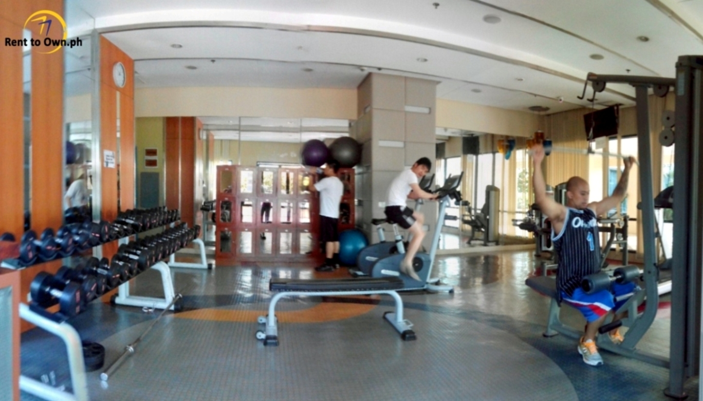 Gym - http://www.renttoown.ph