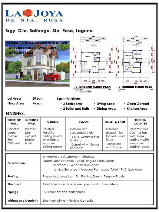 FOR SALE: House Laguna > Sta Rosa 2