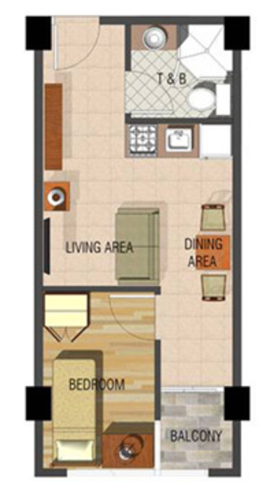 Unit 210 floor plan