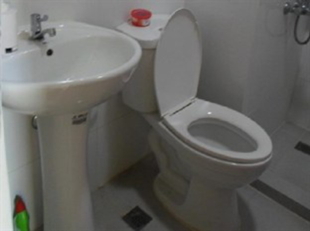 Unit 210 toilet/bathroom