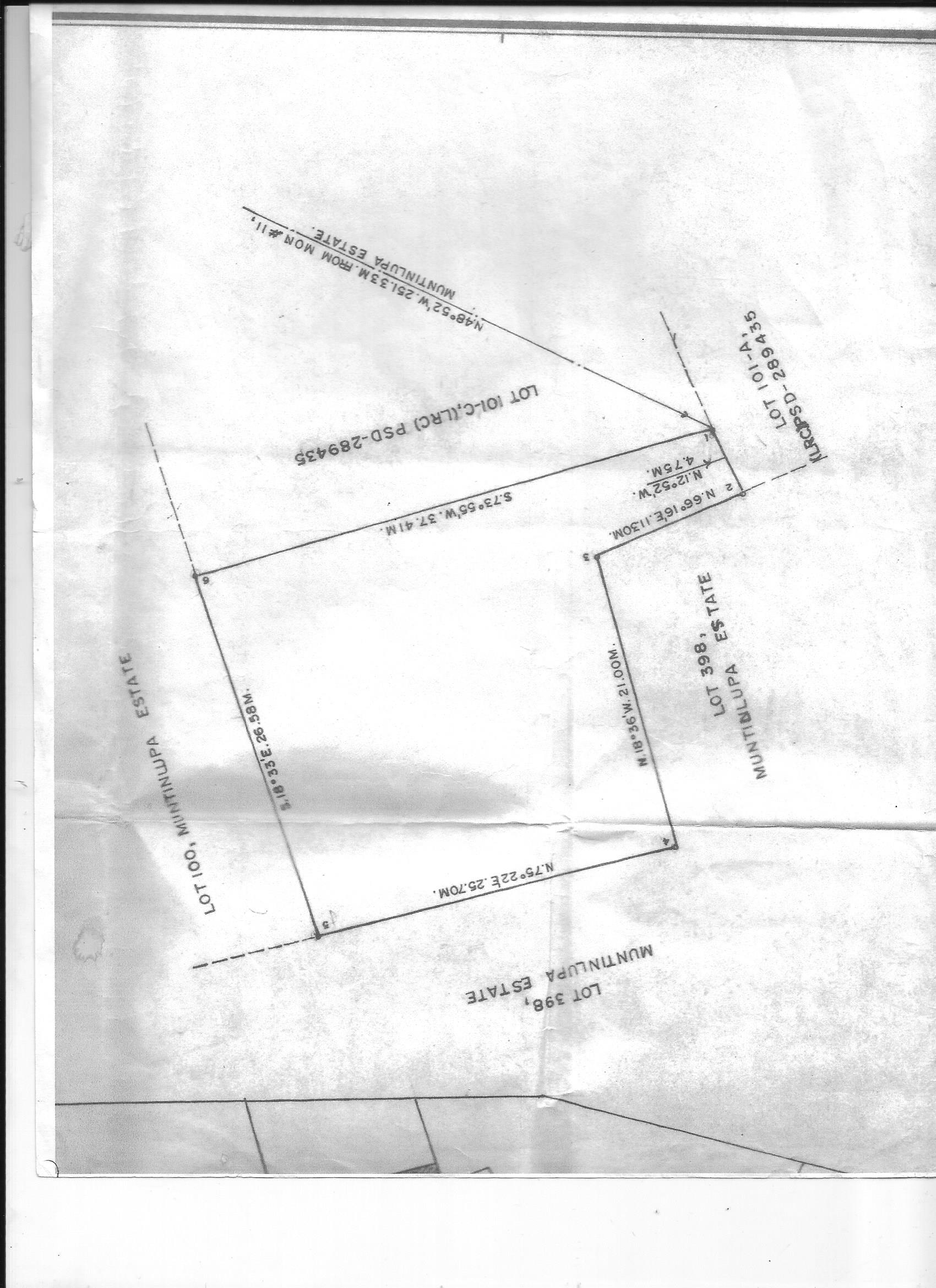 FOR SALE: Lot / Land / Farm Manila Metropolitan Area > Muntinlupa