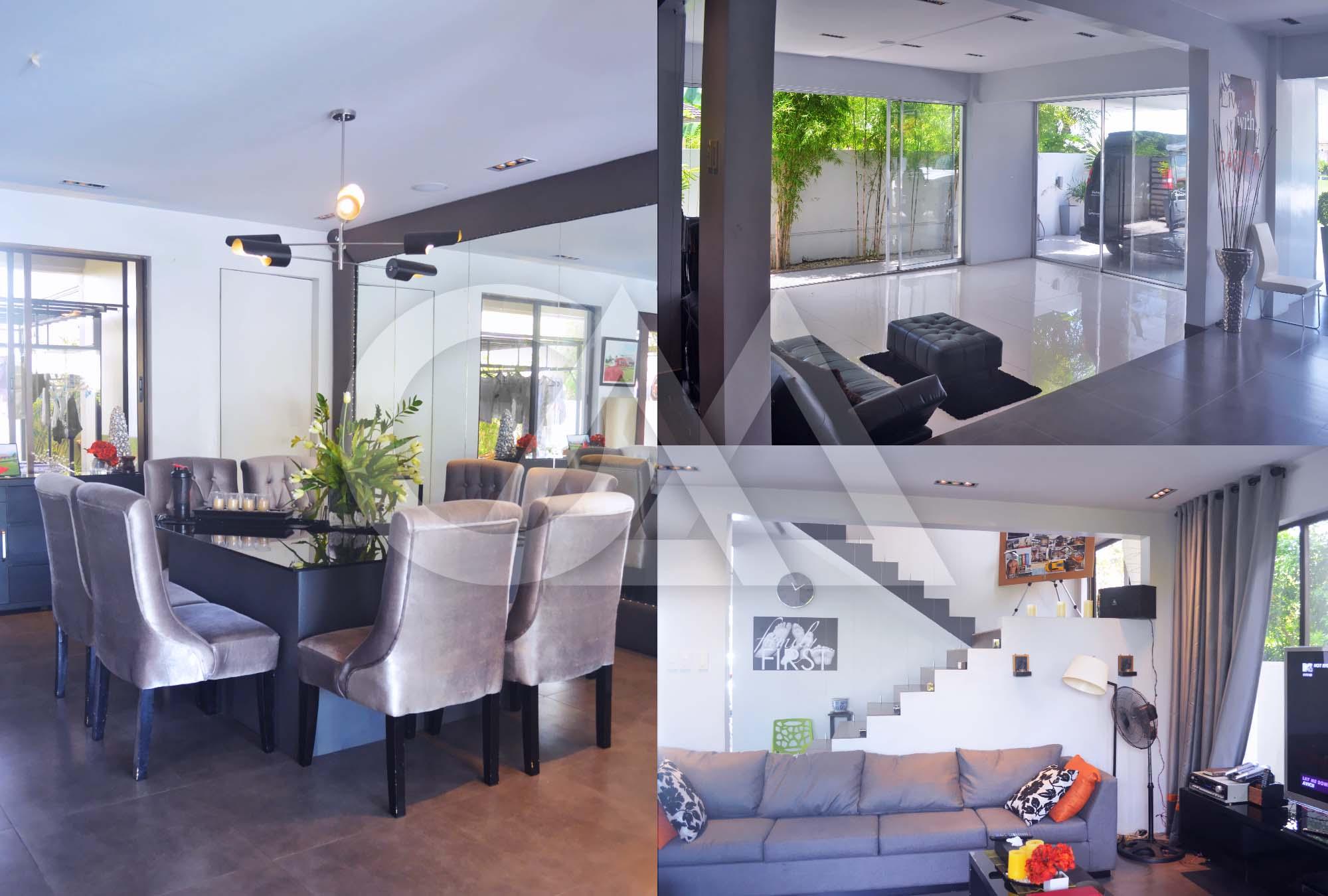 Dining Area; Living Room; Indoor Garage