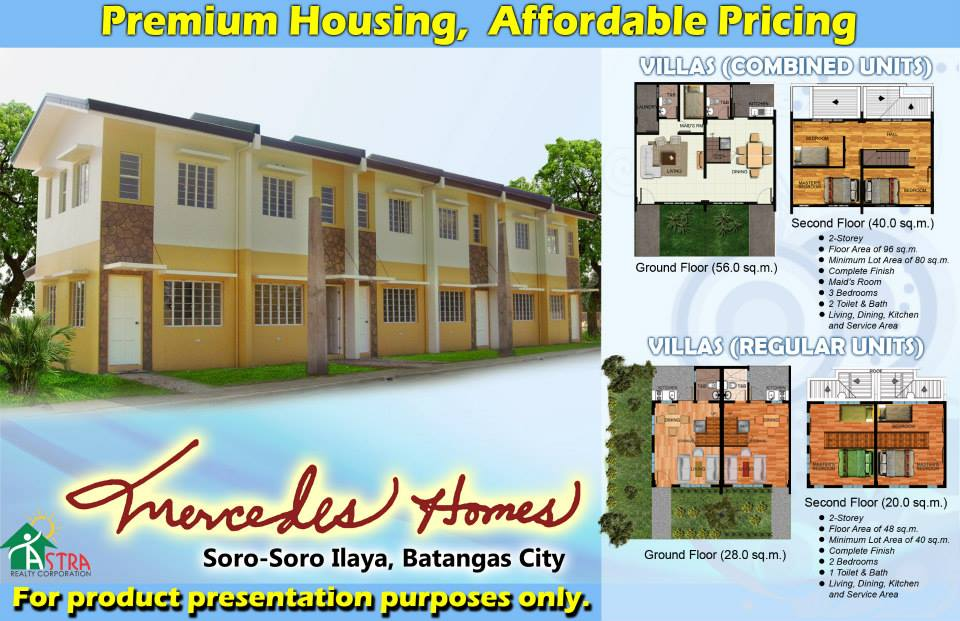 Affordable Mercedes Homes Villas
