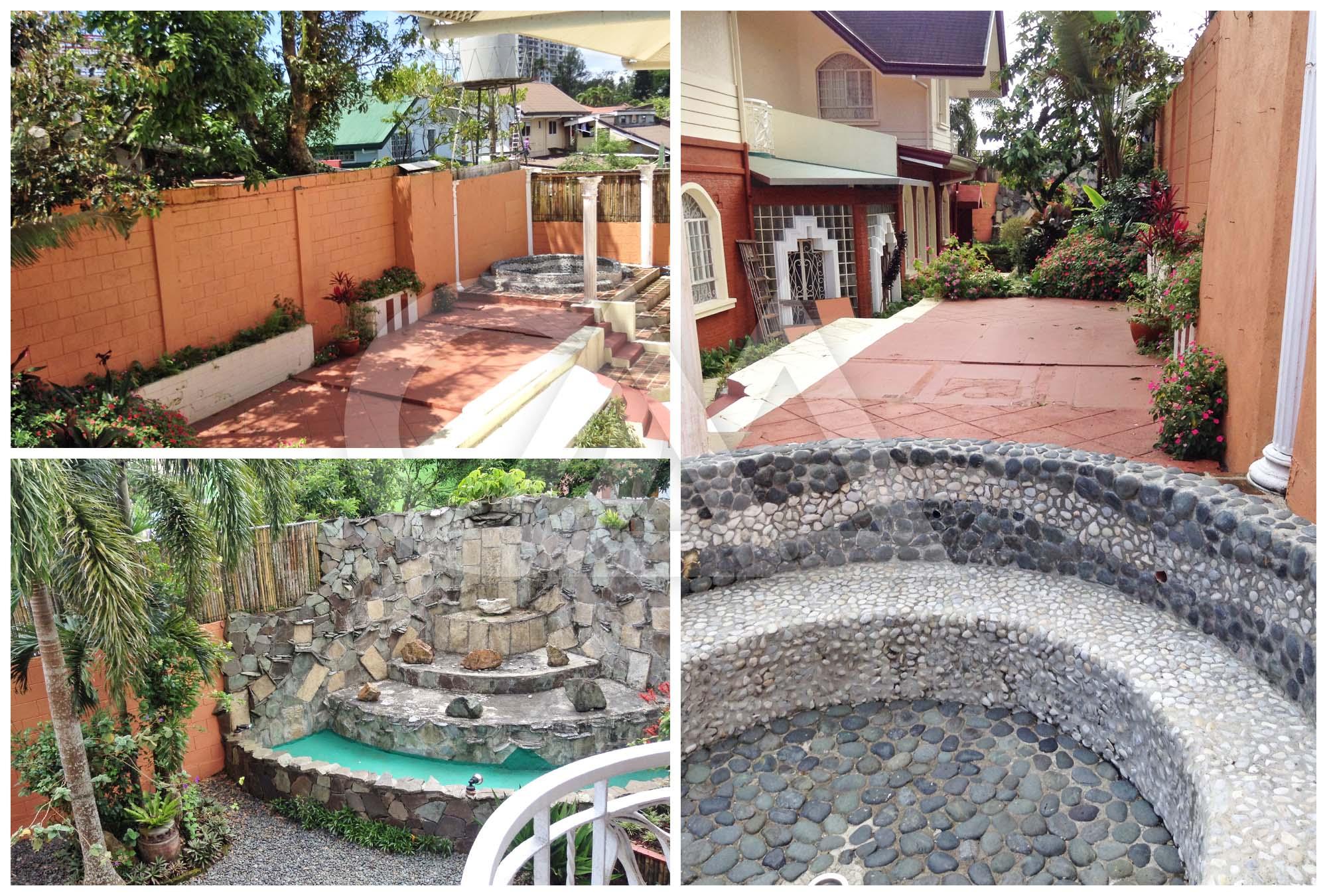 Lanai; Garden; Fountains; Jacuzzi