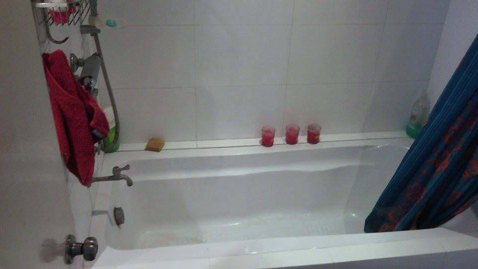 Bath Tub in the Comfort Room