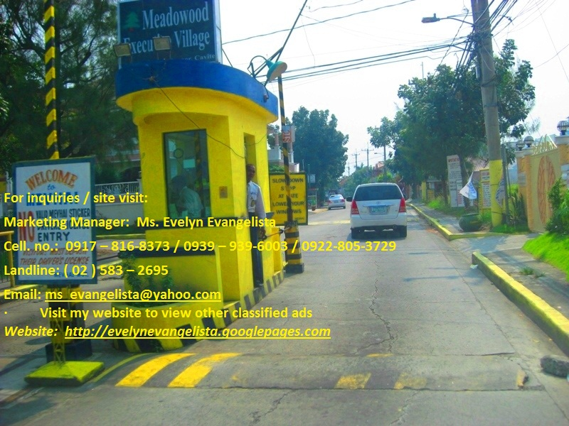 FOR SALE: Lot / Land / Farm Cavite > Bacoor 1