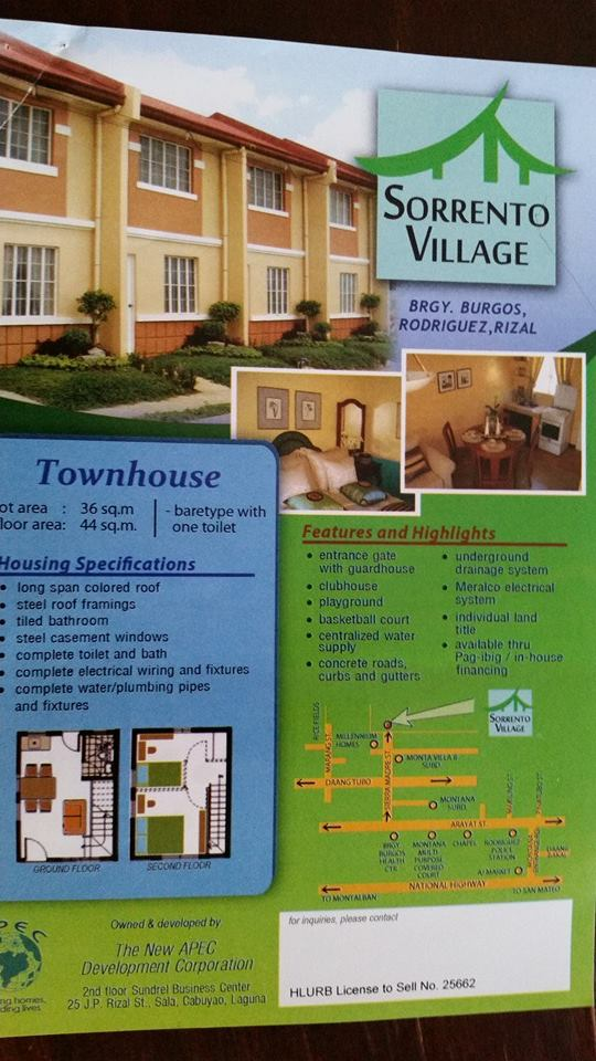 FOR SALE: Apartment / Condo / Townhouse Rizal > Other areas 8