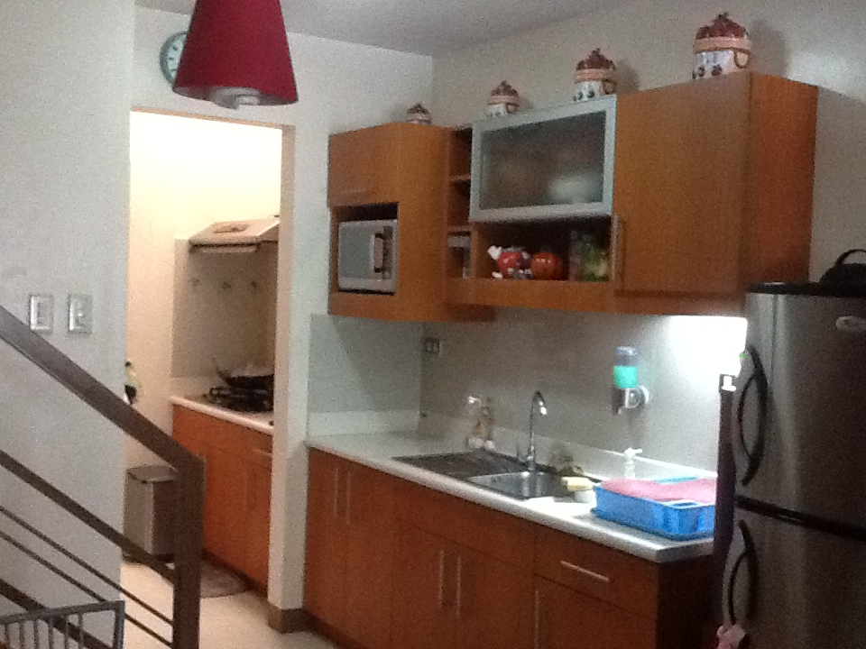 Kitchen of one of the Units