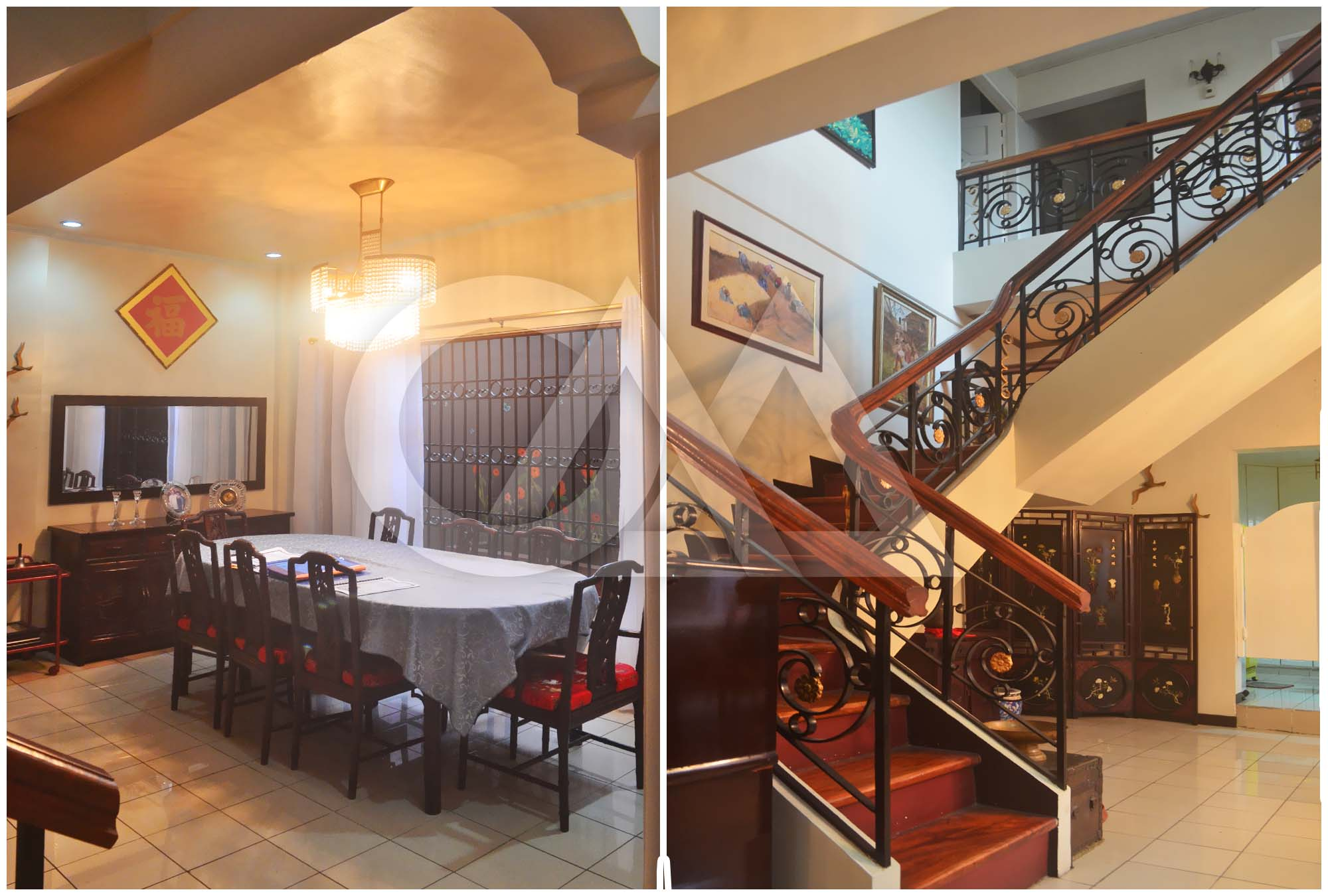 Dining Area; Main Staircase
