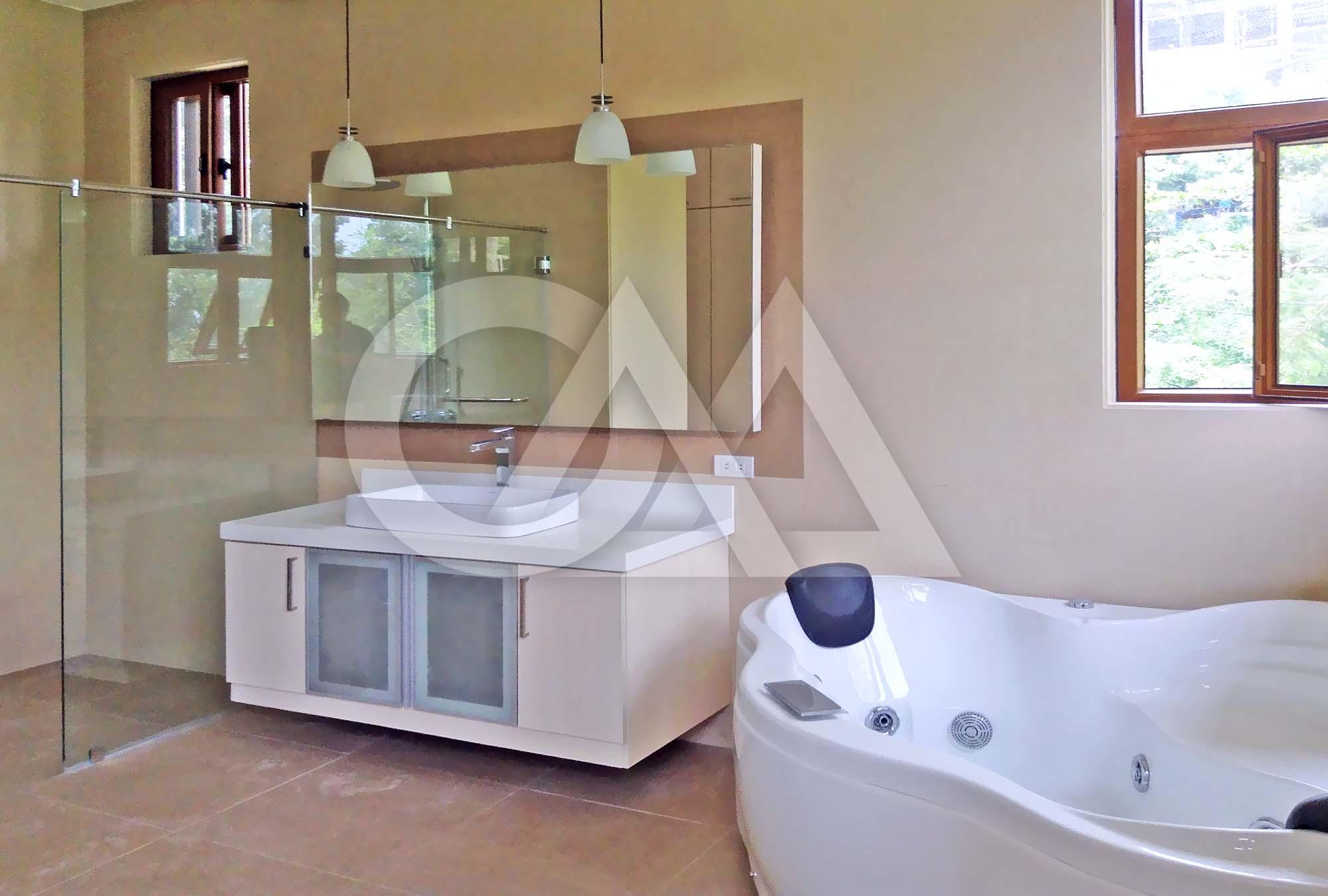 Master's Bath; Jacuzzi