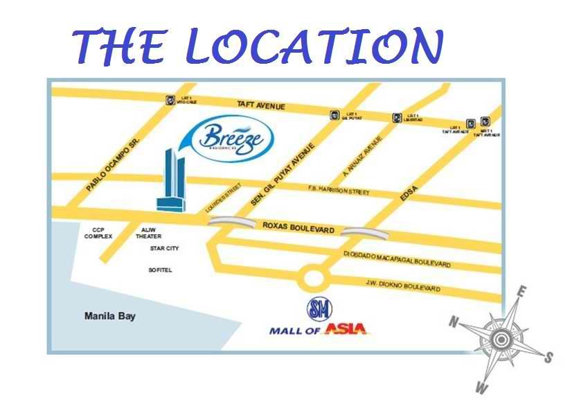 loacation map
