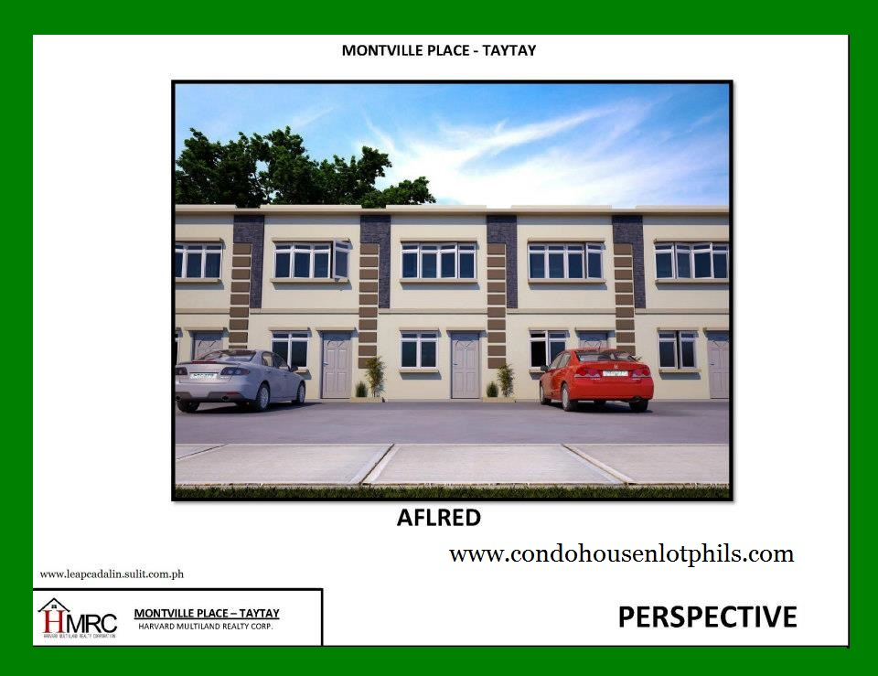 ALFRED MODEL- MONTVILLE PLACE, TAYTAY