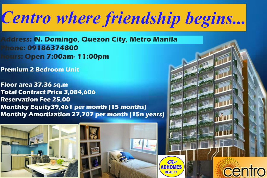 Premium One Bedroom Unit in Quezon City