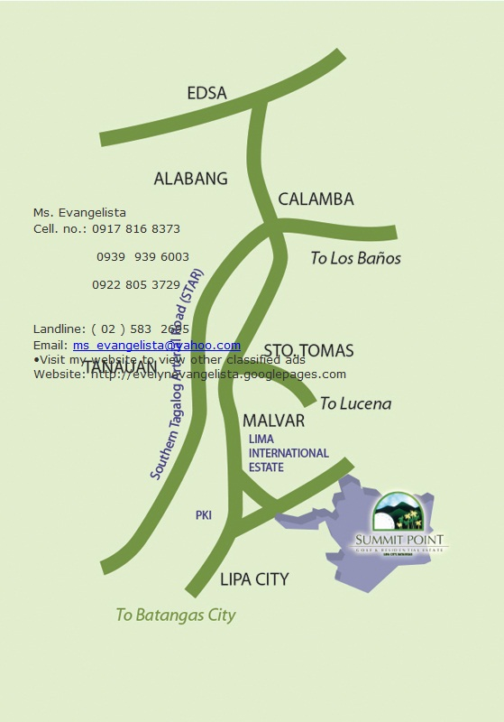 FOR SALE: Lot / Land / Farm Batangas > Lipa City 4