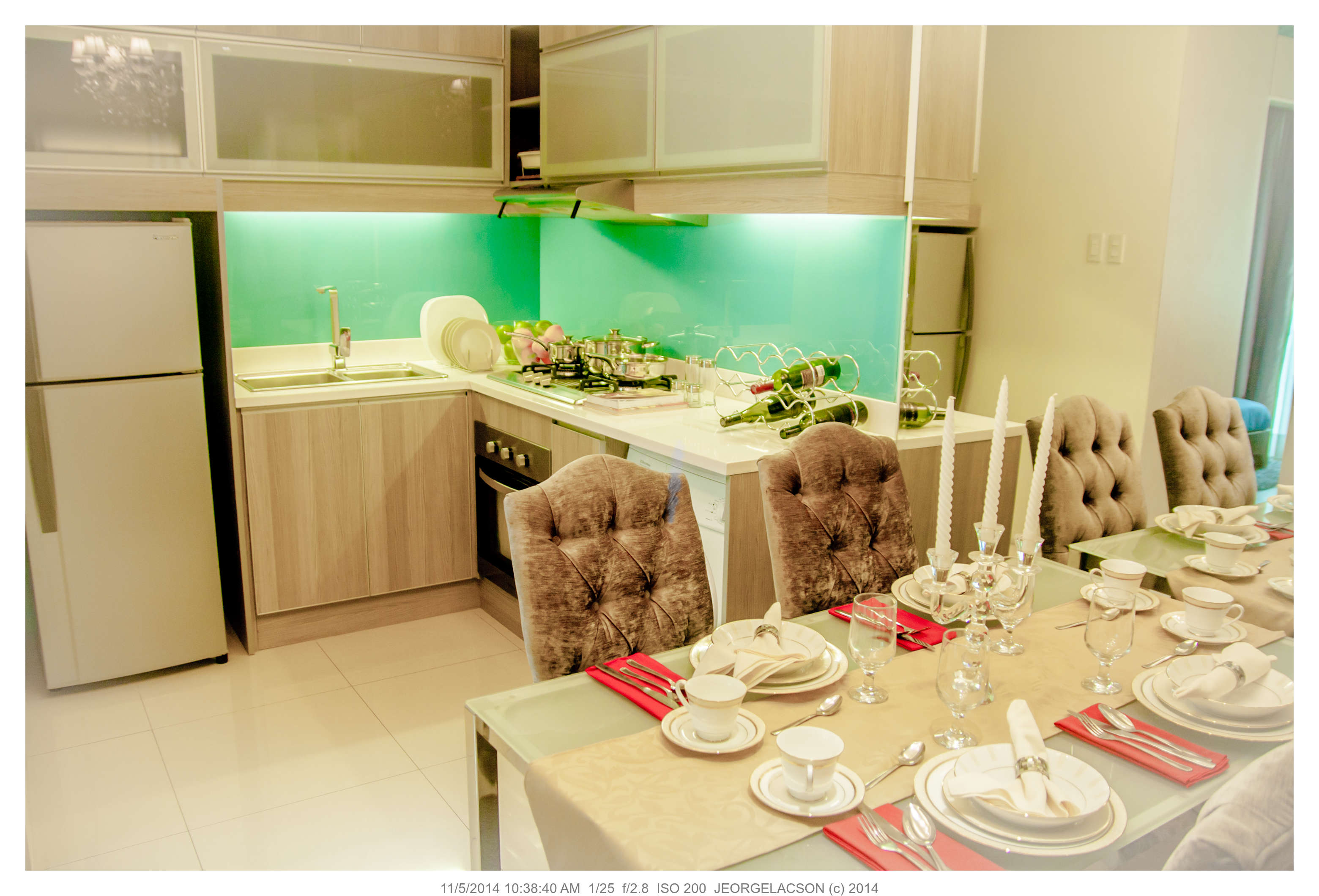 40 sqm and 2 Bedroom Condo unit