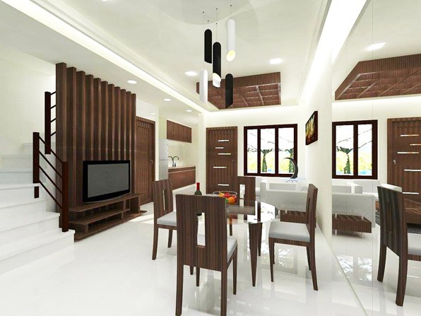 Modern Asian Townhomes at North Olympus For Only Php 3.95m