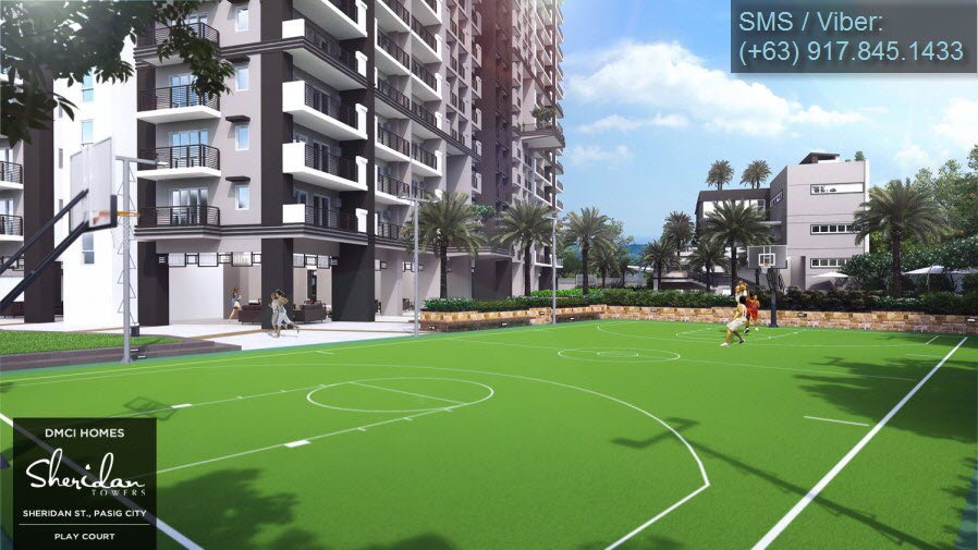 Sheridan Towers + Play Court