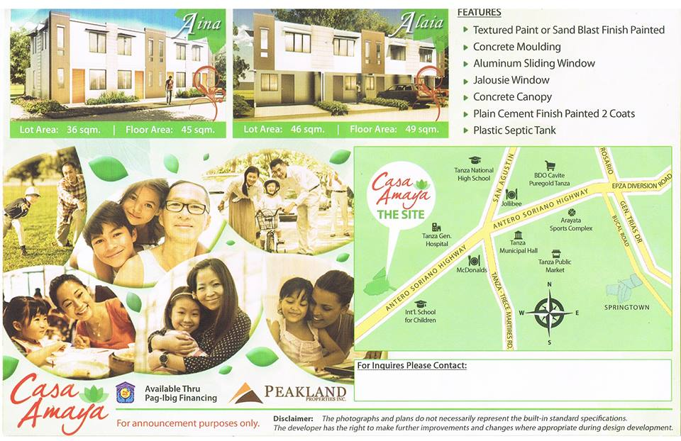 House & Lot as low as 6K per month in Tanza Cavite