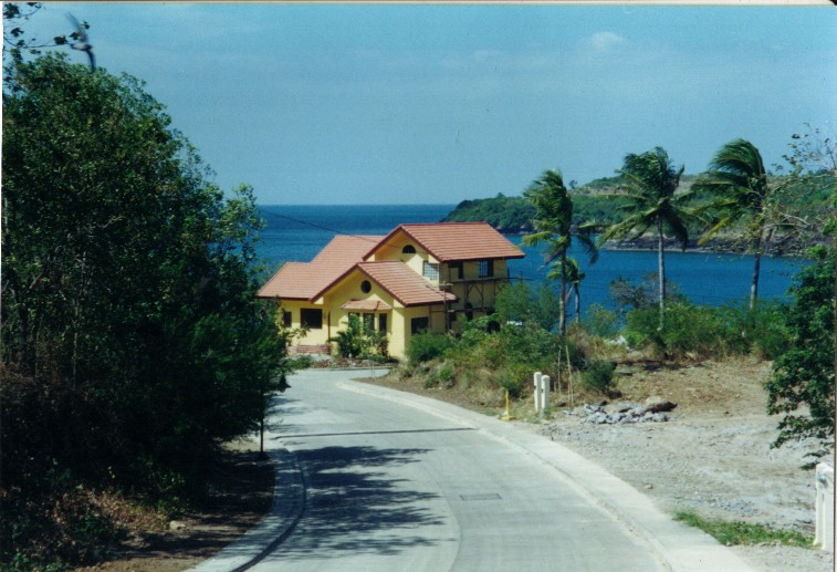 View of the house along Long Beach Drive
