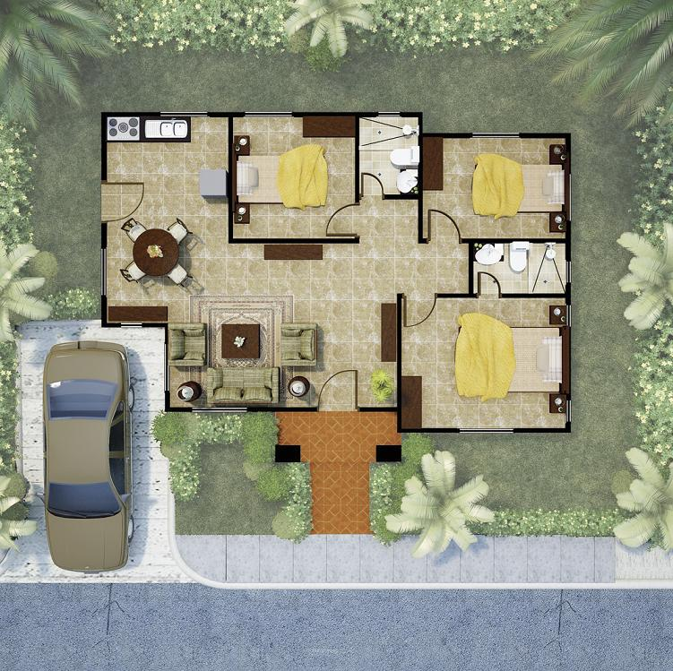 Hermoso Model Floor Plan