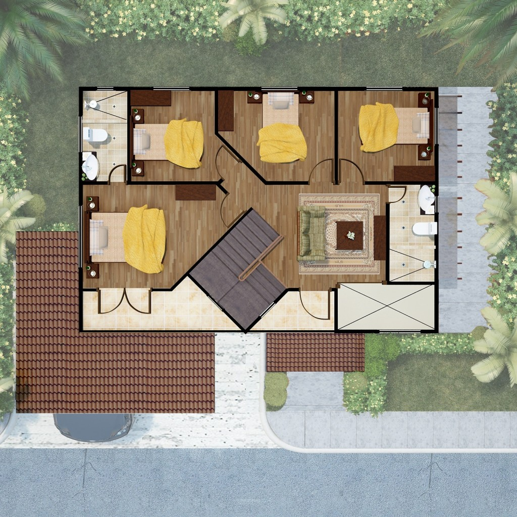 Hermoso Grande 2nd floor Plan