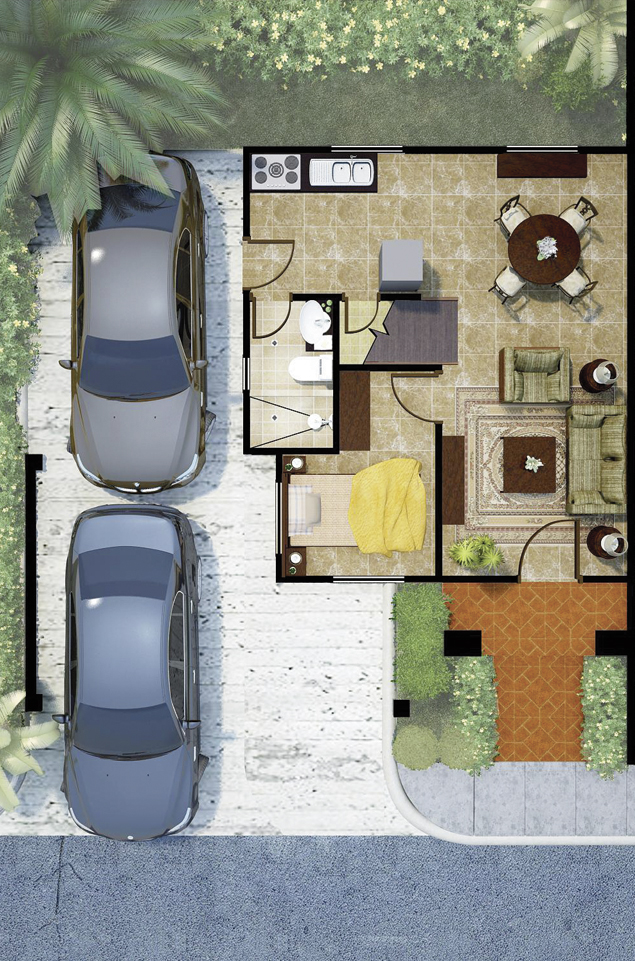Medina Classique 2nd Floor Plan