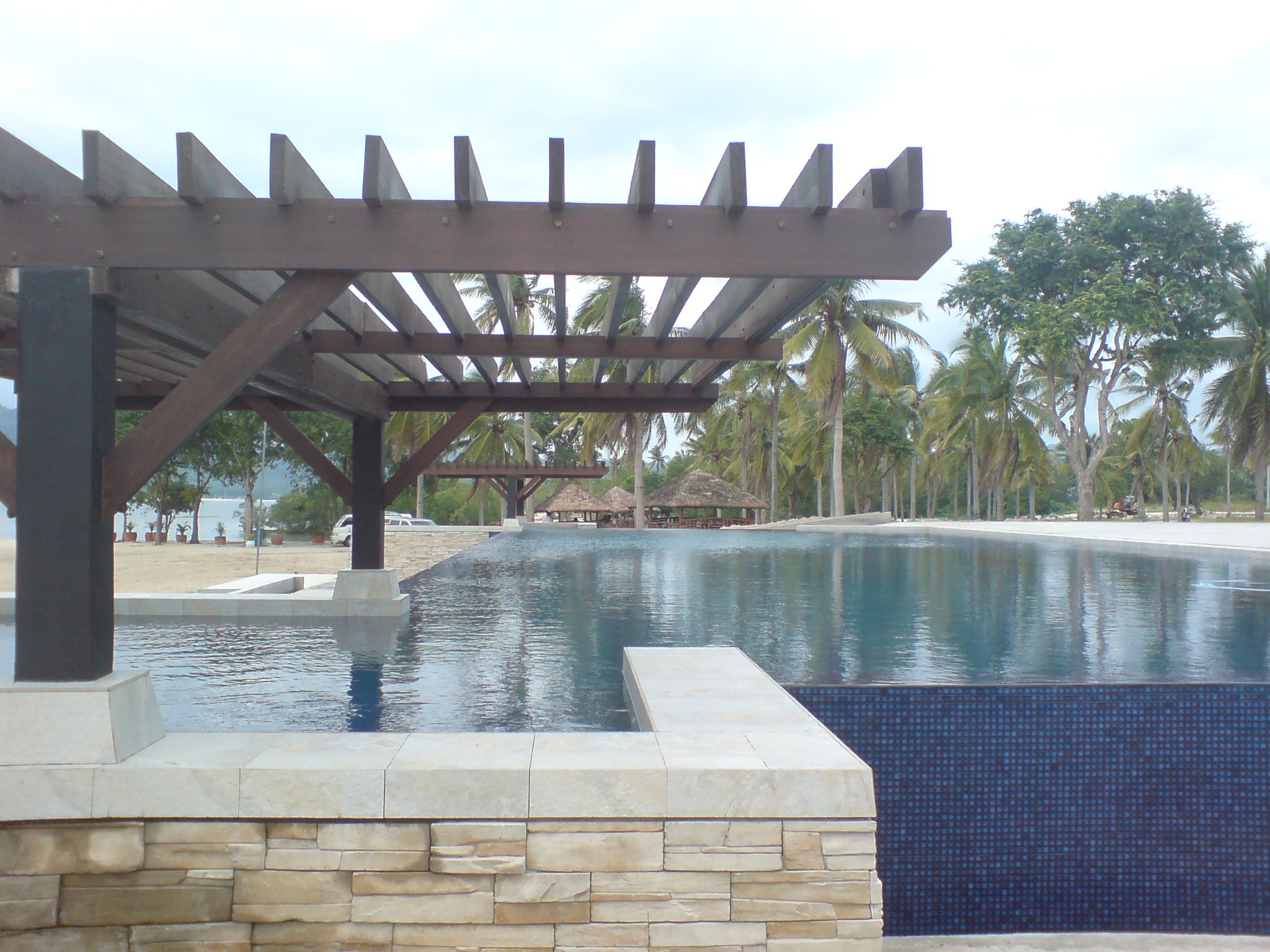 Trellis at the infinity pool