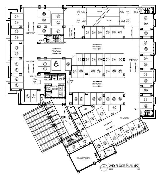 Lazuli - 2nd Floor Plan