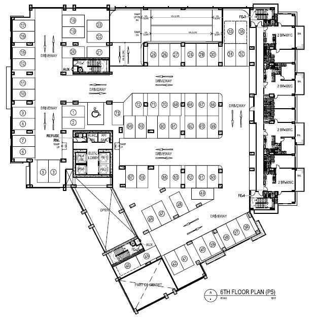 Lazuli - 6th Floor Plan