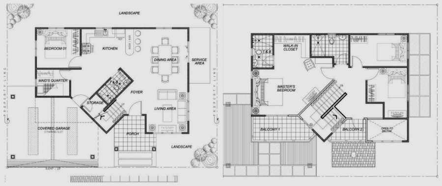 Linden Ground Floor & 2nd Floor Plan