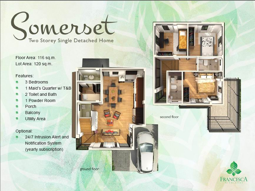 Somerset Floor Plan