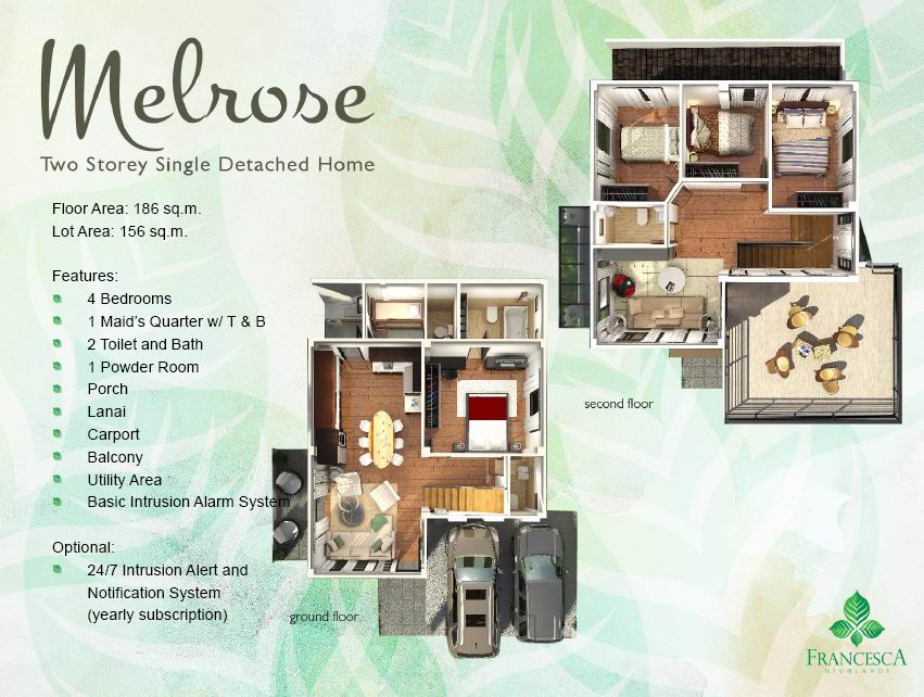 Melrose Floor Plan