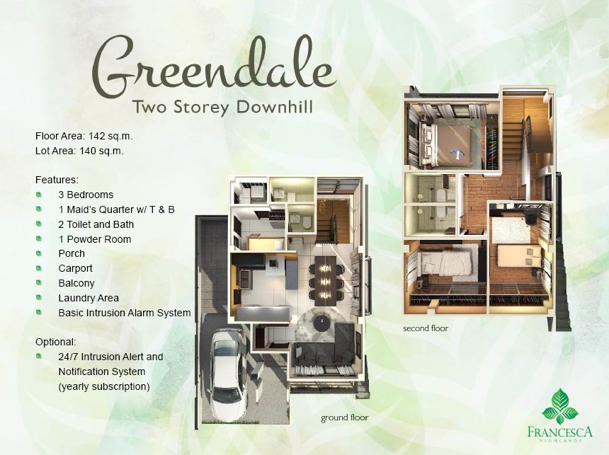 Greendale Floor Plan
