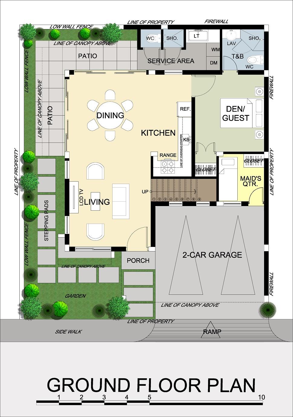 Priya Ground Floor Plan