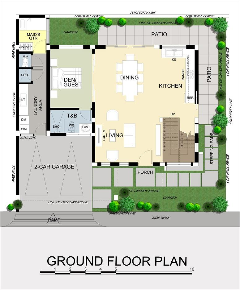 Leela Ground Floor Plan