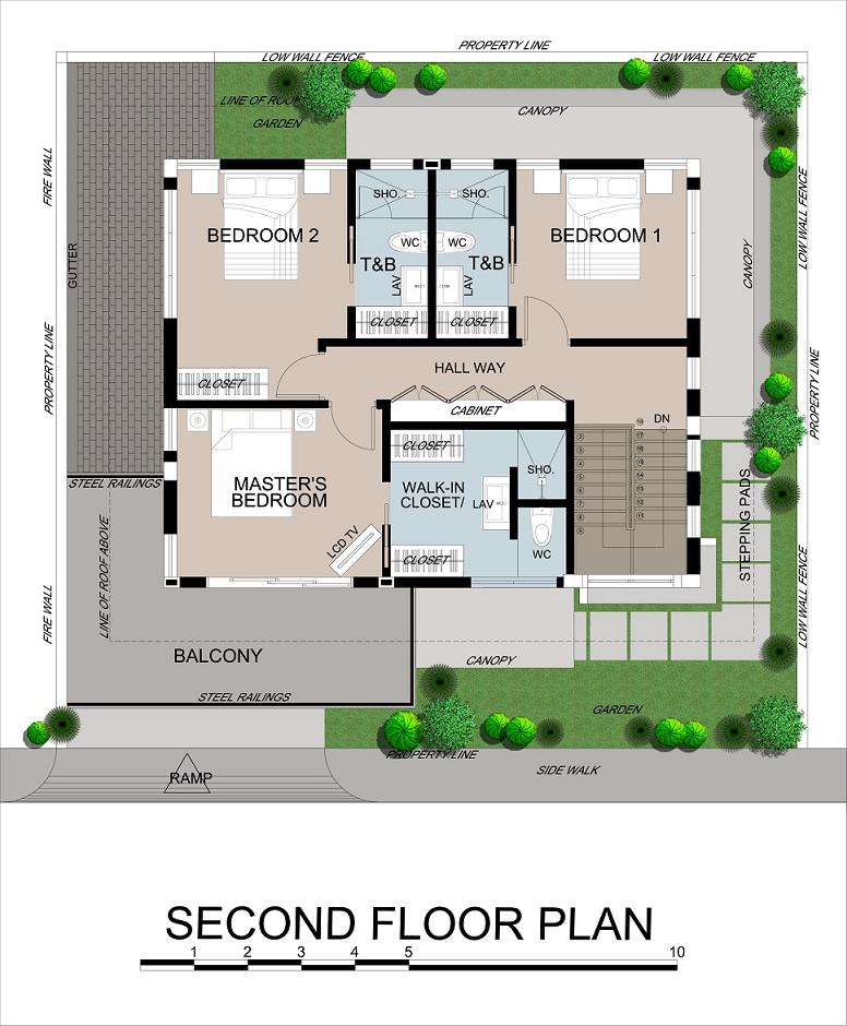 Leela 2nd Floor Plan