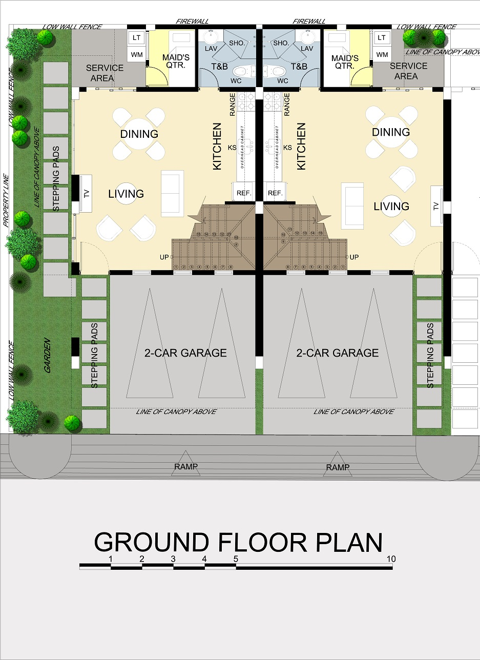 Asha Ground Floor Plan