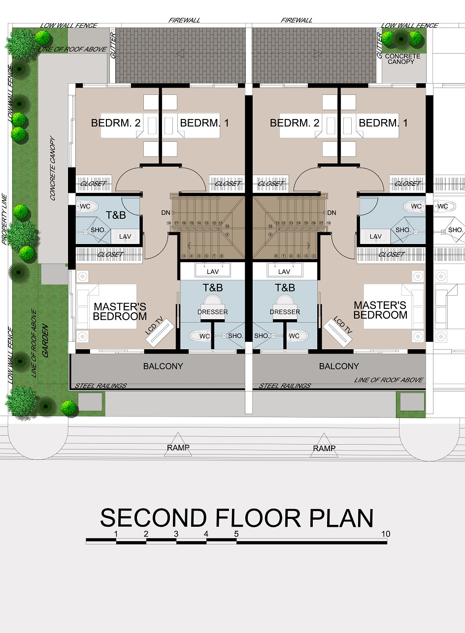 Asha 2nd Floor Plan