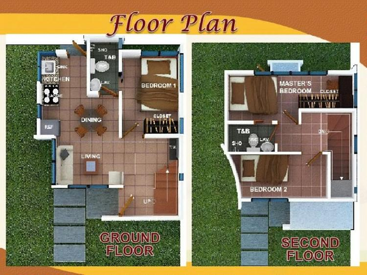 Cheska Ground Floor & 2nd Floor Plan