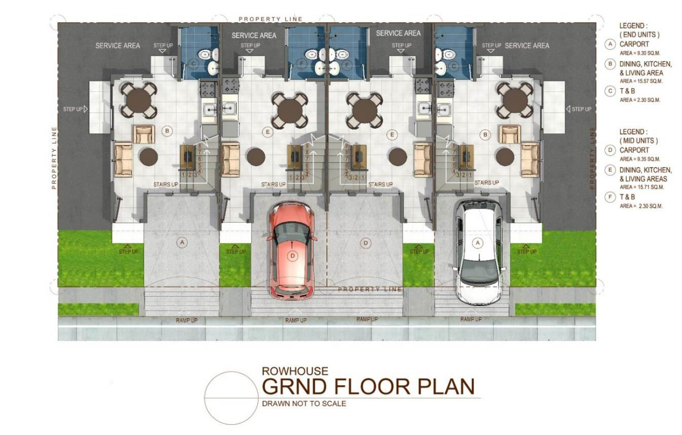 Townhouse Ground Floor Plan