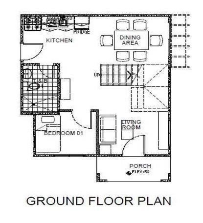 Palacios Grande Ground Floor Plan