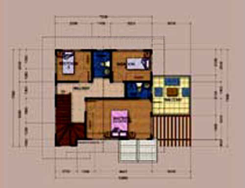 Somerville 2nd Floor Plan